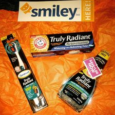 """#5dayChallenge. #TrulyRadiant  #SmileBrighter I have received these products complimentary for testing purposes @mysmiley360 I can't wait to start!"""