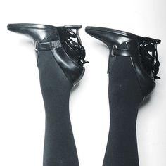 Shoes of the day. [sculpted greyhound heels by: Alain Quilici for David Koma]