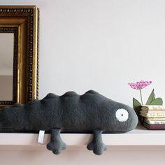 handmade newt soft toy by owl | notonthehighstreet.com