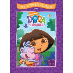 My Adventures with Dora the Explorer - 8x11 Soft Cover Book - Personalized Books - Books | Tv's Toy Box