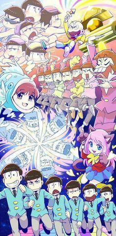The Matsu, Chibita, Totoko, Iyami & Nyaa