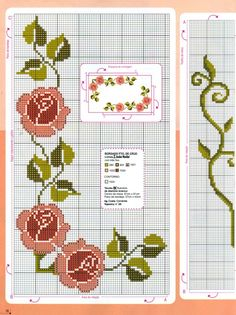 Beginning Cross Stitch Embroidery Tips - Embroidery Patterns Cross Stitch Fruit, Beaded Cross Stitch, Cross Stitch Rose, Simple Cross Stitch, Cross Stitch Flowers, Cross Stitch Embroidery, Easy Cross Stitch Patterns, Cross Stitch Borders, Cross Stitch Charts