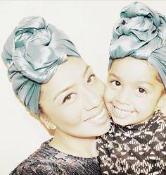 Attaché foulards Gélé Headwrap