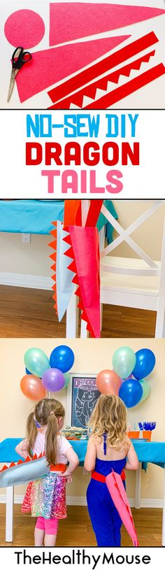 #ad Netflix original series from DreamWorks Animation Dragons Rescue Riders, a new preschool show based on How to Train Your Dragon! I made instructions on how to do a DIY no sew dragon tail, and how to throw a dragon themed party!