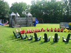 the best kid sized adirondack chairs!!