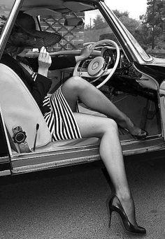 Vintage Benz realness.