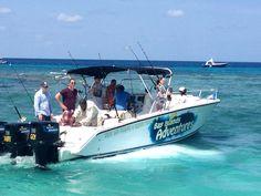 Fishing Charters. Roatan, Honduras. Book your fishing trip today with West Bay Tours.  http://www.westbaytours.com/