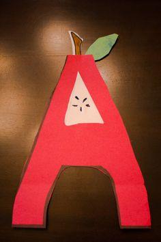 A is for Apple Preschool activities #preschoolactivities #aisforapple #alphabetactivities