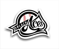 Check out this logo made by hbum for the Black Aces baseball team! #baseball #sportslogo #designcrowd