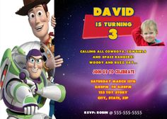 Toy Story Birthday Party Invitation  by stephaniescollection, $9.99