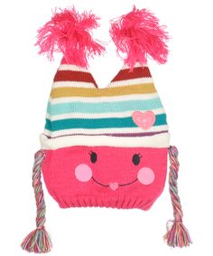 """Cookie's Brand """"Pigtails"""" Beanie (Sizes 0M – 24M) - Cookie's"""