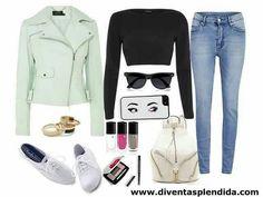 #outfit  #autunno  #giacca  #jeans Segui  www.diventasplendida.com