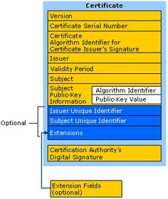X.509 Version3 Certificate