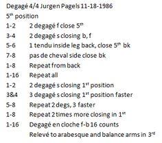 Degage in 4/4