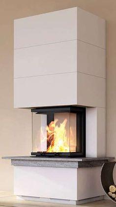 Komplettkamin Camina S12 Hoch mit Natursteinbank Inspiration, Home Decor, Fireplace Set, Home, Trendy Tree, Fireplaces, Fireplace Living Rooms, House Design, Asylum