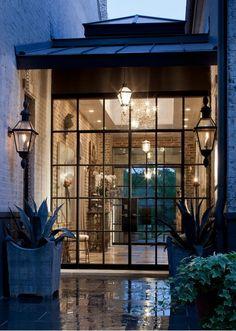 Window walls/brick walls/lighting