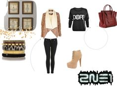 """""""2ne1"""" by mariam-lol ❤ liked on Polyvore"""