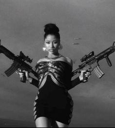 Loving Nicki Minaj without all that barbie stuff..