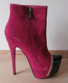 dfe388b82810f Sergio Todzi Ladies Fuschia Pink Boots 6