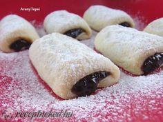 Gourmet Recipes, My Recipes, Cake Recipes, Cooking Recipes, Recipies, Hungarian Desserts, Hungarian Recipes, Hungarian Food, Sweet Cookies