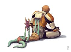 Numa and Waxer, The Clone Wars----I loved this episode