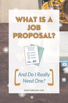 When you are applying for a virtual assistant or freelance position, a job proposal is a helpful tool to market yourself and your services. It allows both you and the potential client to know exactly what tasks you'll be completing, how long it will take you to complete them, and the various fees involved. Keep reading to find out more about a job proposal and how to create one. #virtualassistant #virtualassistant #virtualbusiness #onlinebusiness #onlinemarketing #onlinebusinessowner
