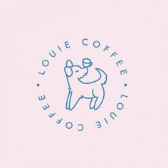 41 Trendy ideas for design logo inspiration coffee shop Coffee Shop Branding, Coffee Shop Logo, Coffee Shop Design, Cafe Branding, Dog Logo Design, Baby Design, Branding Design, Graphic Design, Logo Inspiration