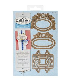 Take advantage of the Spellbinders Shapeabilities Die D-Lites-Victorian Tags 2 that offers high-quality results. You can use the die as a stencil to create an intricate pattern, cut shapes for accentu