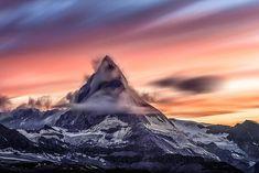 Matterhorn Sunset - 6 by 6