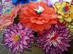 257 best paper flower party carbaughllufrio event images on history and types of paper flowers mexican mightylinksfo