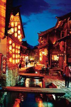 麗江旧市街(Old Town of Lijiang)
