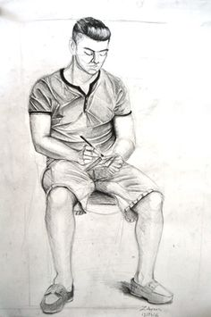 Anatomi Sanat Akademisi Güzel Sanatlar Yetenek Sınavlarına Hazırlık Kursları Human Figure Sketches, Figure Sketching, Figure Drawing, Easy Eye Drawing, Drawing Ideas, Art Poses, Watercolor Portraits, Pencil Art, Erotic Art