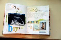 Diario del embarazo: fotos ideas DIY - Ideas para anotar pensamientos
