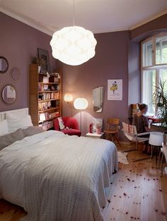 Wall colour, cosy room