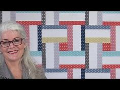 How to Make an Easy Woven Quilt that Looks Complicated