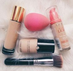 Invest in a quality base like YSL Touche Eclat Foundation and Giorgio Armani Luminous Silk Foundation