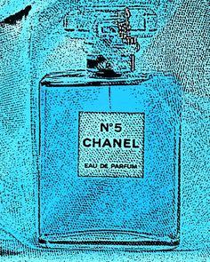 Blue Chanel No. 5 Photograph titled Romance -- 8 x 10 on Fine Art Paper
