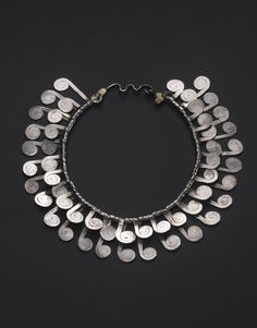 Necklace | Alexander Calder.  Silver.  ca. 1950 Sold by Sotheby's in New York for $278,000 on 14 Nov 2012.