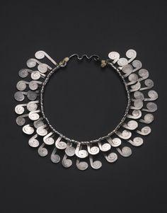 Necklace | Alexander Calder. Silver. ca. 1950