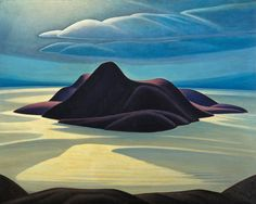 """Pic Island"" by Canadian artist Lawren Harris. Credit via McMichael Canadian Art Collection"