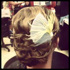 Wedding hair by Kalee