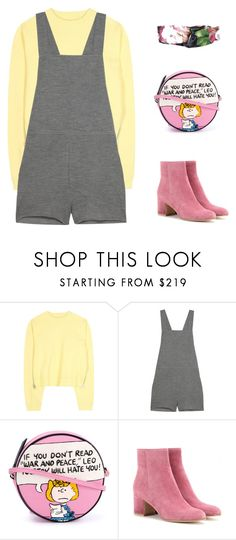 """""""Diane Young"""" by riz-ph ❤ liked on Polyvore featuring Acne Studios, The Elder Statesman, Olympia Le-Tan, Gianvito Rossi and Gucci"""