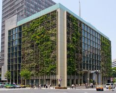 In Tokyo, A Vertical Farm Inside and Out