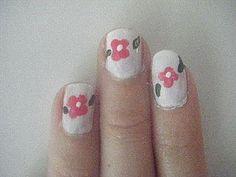 Cute girly nails! How to Do Hand Painted Nail Art thumbnail