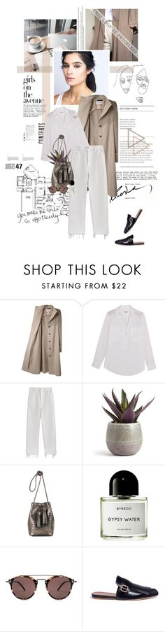 """""""You make me smile so effortlessly."""" by sarahstardom ❤ liked on Polyvore featuring Avenue, Viktor & Rolf, Equipment, Rachel Comey, Tom Ford, Byredo, Oliver Peoples, Marni and Miss Selfridge"""