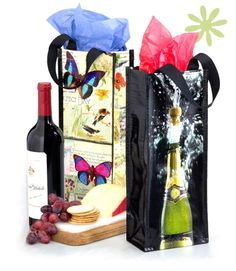 Insta-Totes Wine Totes, Wine Gift Bags, Wine Tote Bags | Patty Reed Designs