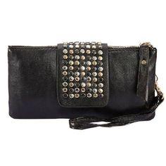 Leegoal Lovely Women Leather Handbag Wallet Black $5