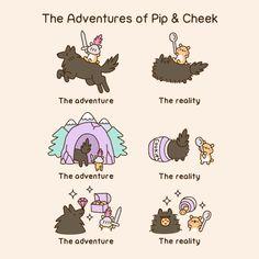 Comics Archives - Page 7 of 34 - Pusheen Pusheen The Cat Book, Gato Pusheen, Pusheen Love, Kawaii Drawings, Cute Drawings, Pusheen Stormy, Cutest Cats Ever, Nyan Cat, Cat Comics