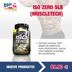 ************¡¡¡NUEVO PRODUCTO!!!************  ISO ZERO 5LB DE #MUSCLETECH --> 69,90€  http://usafitness.es/es/proteinas-de-suero/2284-iso-zero-631656252293.html