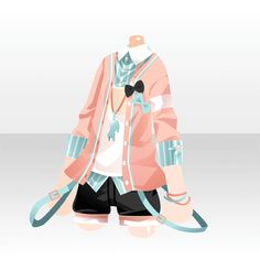 Manga Clothes, Drawing Anime Clothes, Anime Outfits, Boy Outfits, Cute Outfits, Clothing Sketches, Anime Dress, Fashion Design Drawings, Character Outfits